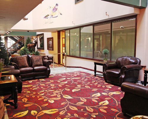 A large furnished lobby.