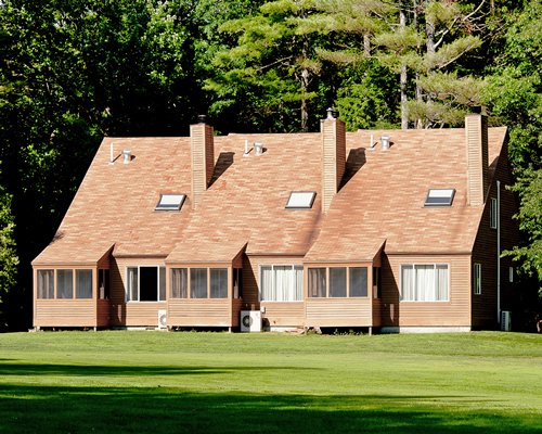 Multiple-unit vacation home near golf course.