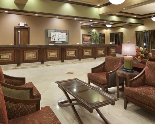A well furnished lobby.
