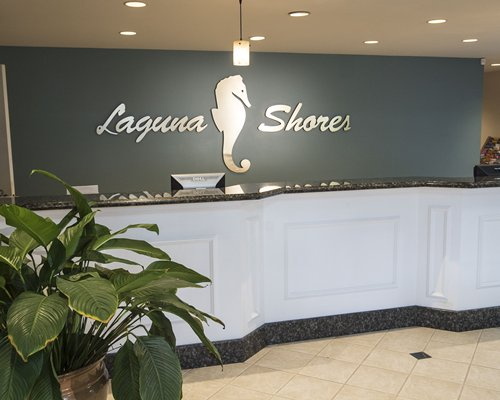 Reception area of Laguna Shores.