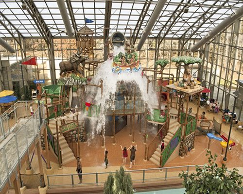 An indoor amusement park of Holiday Inn Club Vacations Resort.