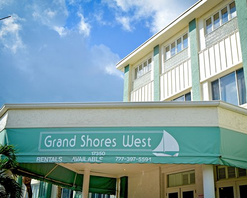 Signboard of Grand Shores West resort.