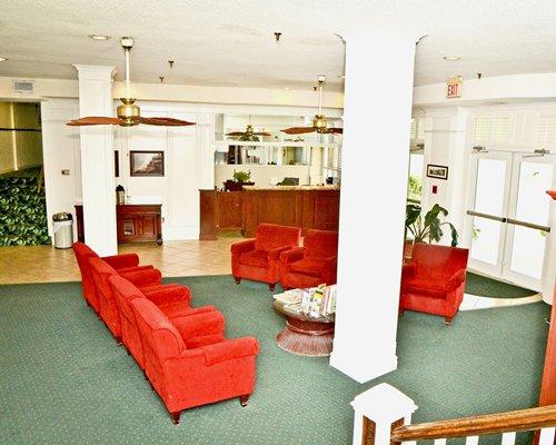 Grand Shores West resort reception area.