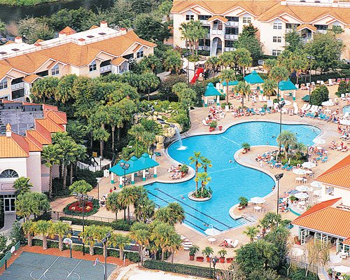 An aerial view of Sheraton Vistana Resort.