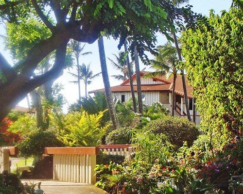 Scenic exterior view of Nihi Kai Villas.