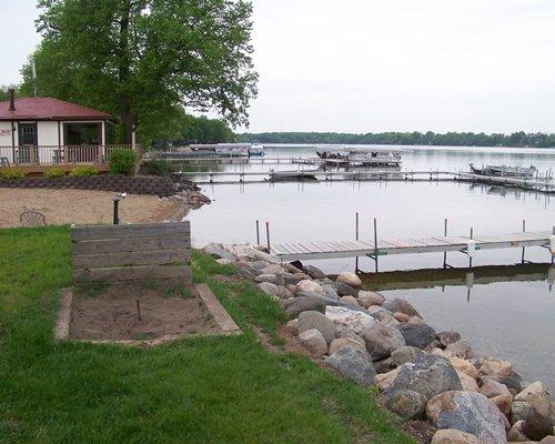 A lakeside villa at Lake Carlos Villas.