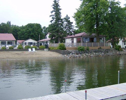A lake view of the Lake Carlos Villas resort.