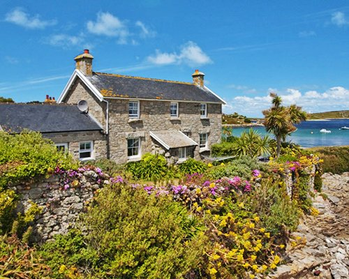 Scenic exterior view of Tresco.