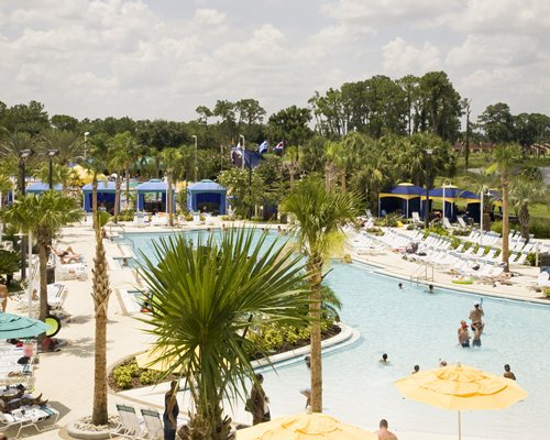 An aerial view of Holiday Inn Club Vacations At Orange Lake Resort.