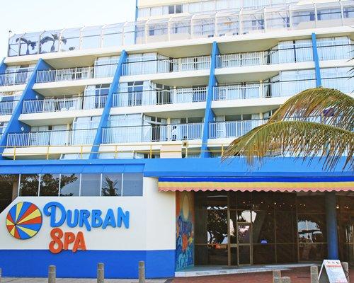 Exterior view of Durban Spa.