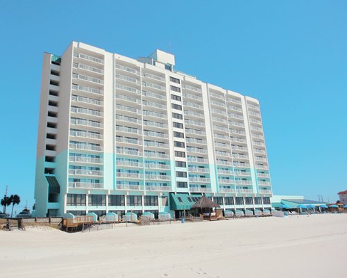 Exterior view of Landmark Holiday Beach Resort.