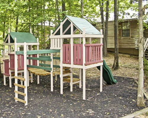 An outdoor play area.