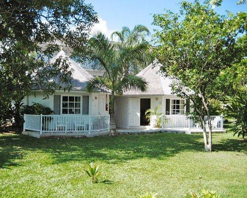 Scenic view of multiple unit Club Caribbean Resort.