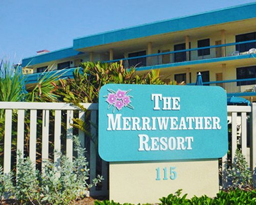 Signboard of Merriweather Resort.