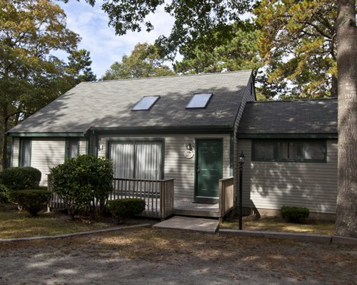 Scenic exterior view of a unit at Cape Cod Holiday Estates.