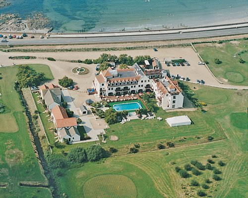 An aerial view of La Grande Mare Golf & Country Club resort.