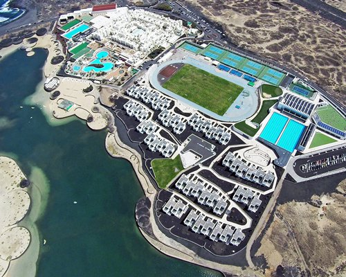 An aerial view of Club La Santa.