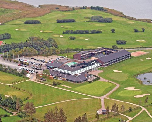 Scenic exterior view of Himmerland Golf & Spa Resort.