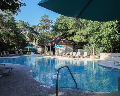 Outdoor swimming pool at Port O'Call.