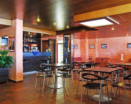 Bar and restaurant at Palace Residence.
