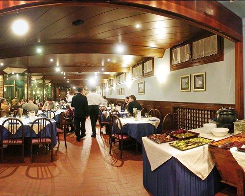 A fine dining restaurant.