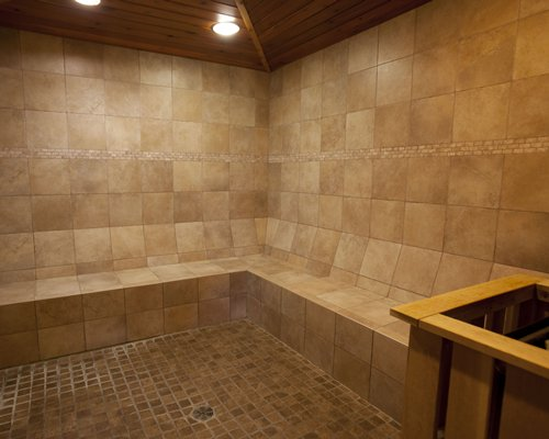 Sauna at Ptarmigan Village at Whitefish.
