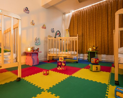 Indoor kids recreation room.