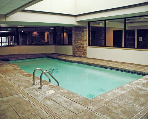 Indoor swimming pool at Silverado II.