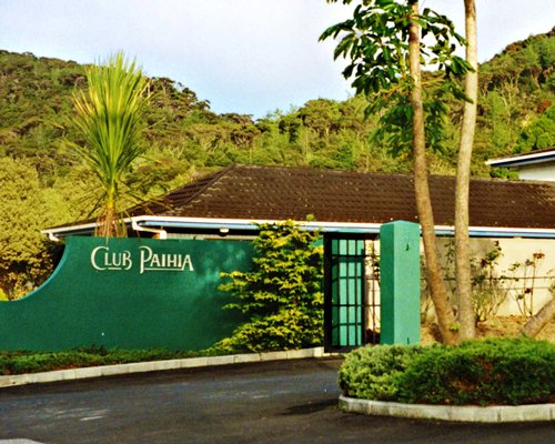 Street view of Club Paihia resort unit.