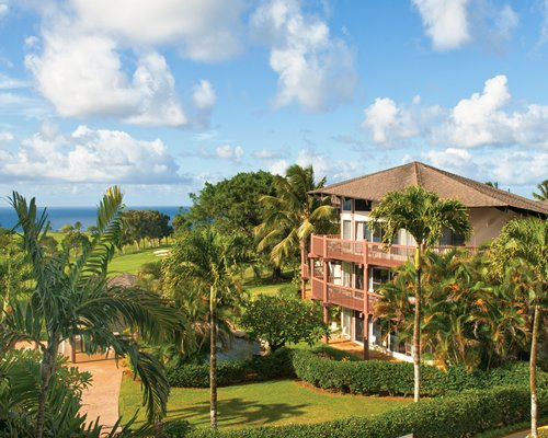 Scenic exterior view of Wyndham Ka'eo Kai resort.