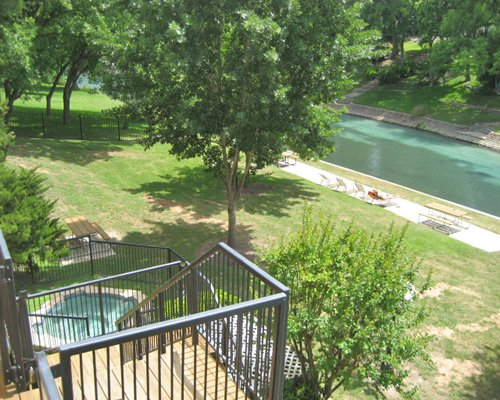 Balcony view of Inverness at New Braunfels.
