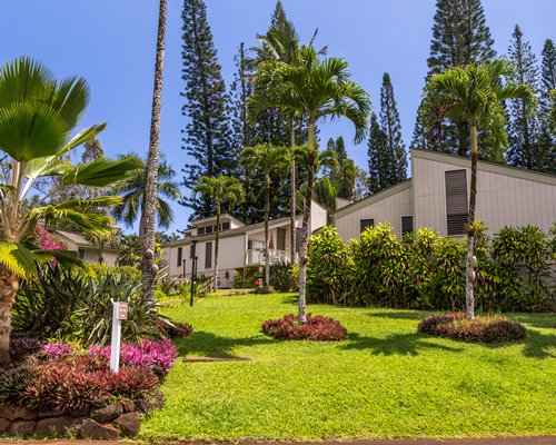 Scenic exterior view of the Makai Club Cottages.