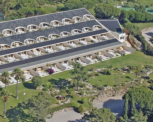 An aerial view of Quinta do Lago Country Club.