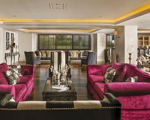 Resort lounge area.