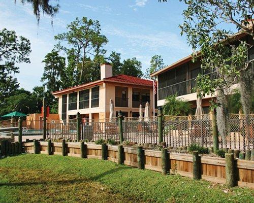 Scenic exterior view of the Bryan's Spanish Cove resort.