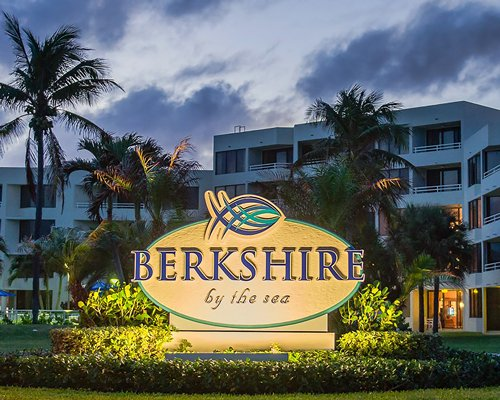Signboard of Berkshire by the Sea resort.
