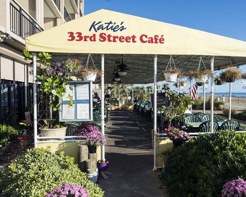 A restaurant at Four Sails Resort.