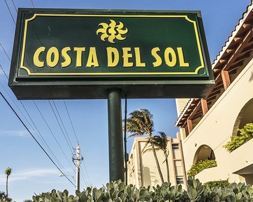 Signboard of the Costa del Sol Resort.