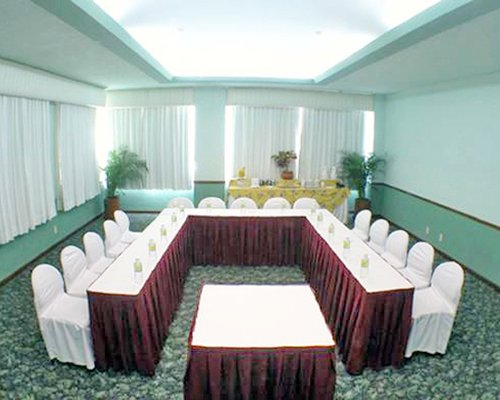 An indoor conference room at The Palms Resort of Mazatlan resort.