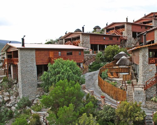 Scenic exterior view of Avalon Springs with a stairway.
