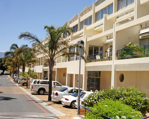Street view of the Cape Gordonia with parking area.