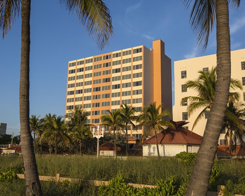Scenic exterior view of Hollywood Beach Tower.