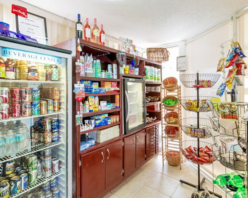 Mini supermarket at Hollywood Beach Tower.