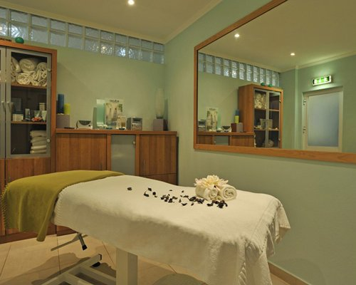 A sauna at the Pestana Palm Gardens.