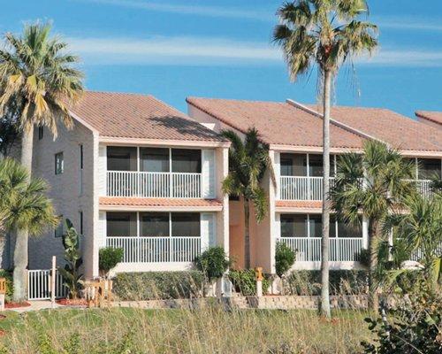 Scenic exterior view of Club Regency Of Marco Island resort.