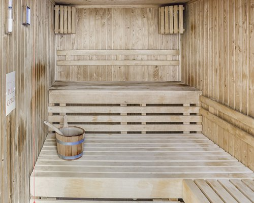 Sauna at Wychnor Park Country Club.