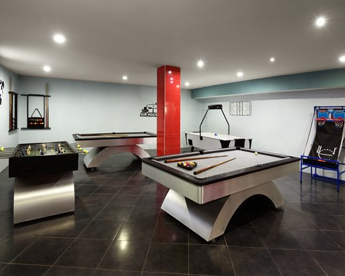 An indoor fine dining restaurant.
