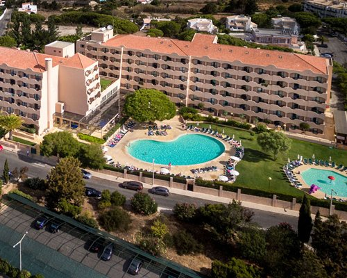 An aerial view of Hotel Ap. Vila Gale Atlantico.
