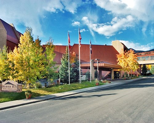 A street view of the Beaver Run Resort.