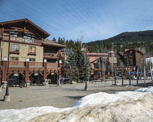 Exterior view of Whistler Vacation Club At Lake Placid Lodge.